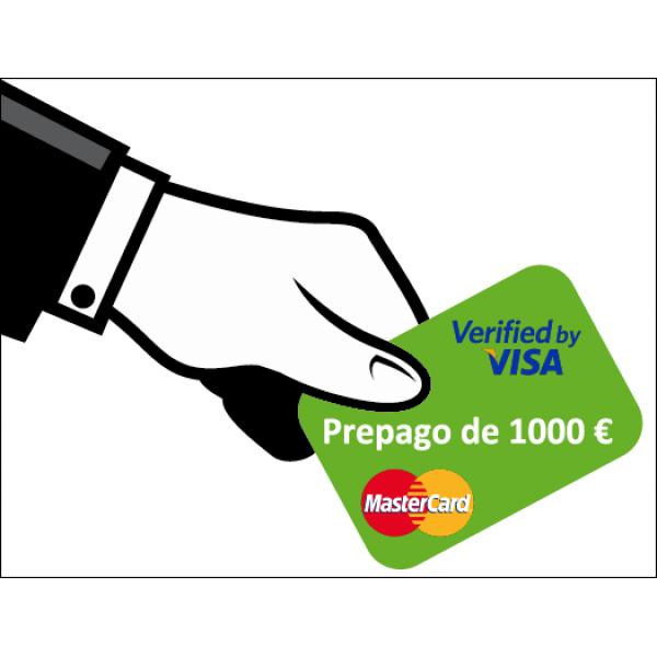 Prepago de 1000 Euros