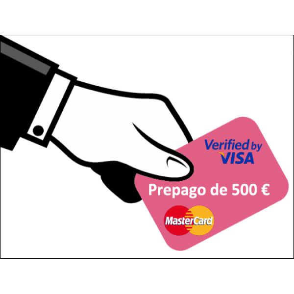 Prepago de 500 Euros