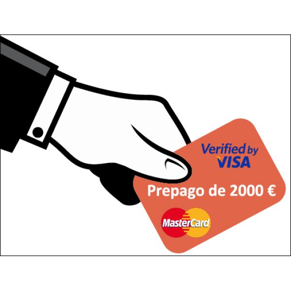 Prepago de 2000 Euros