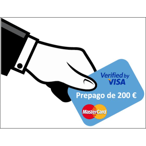 Prepago de 200 Euros