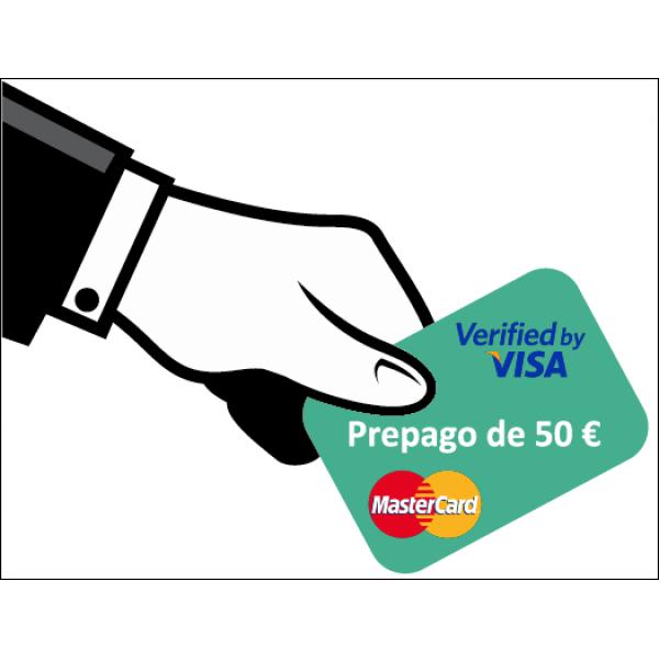 Prepago de 50 Euros