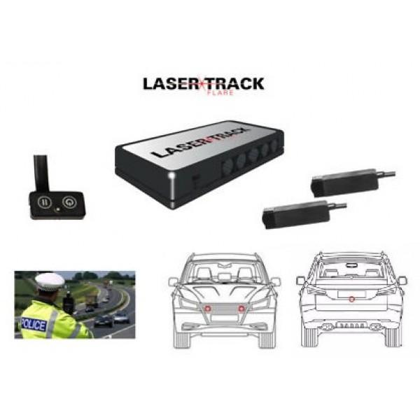LaserTrack Flare - Kit de transpondedor de 2 cabez...