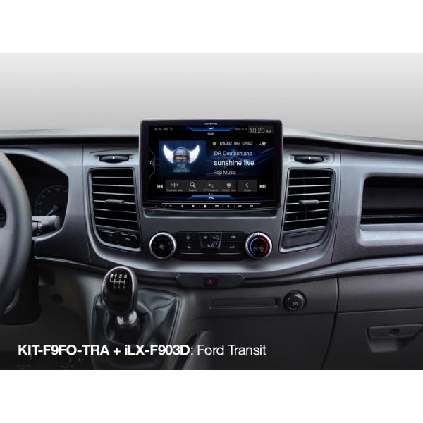Alpine KIT-F9FO-TRA (Kit Ford Transit Custom 2018 en adelante)