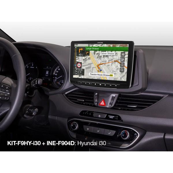 Alpine KIT-F9HY-i30 (Kit Hyundai i30 del 2017 en a...
