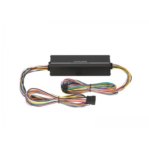 Alpine Amplificador KTP-445A Pack para Unidad Prin...