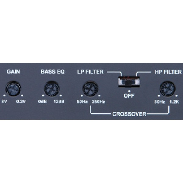 Alpine Amplificador BBX-F1200