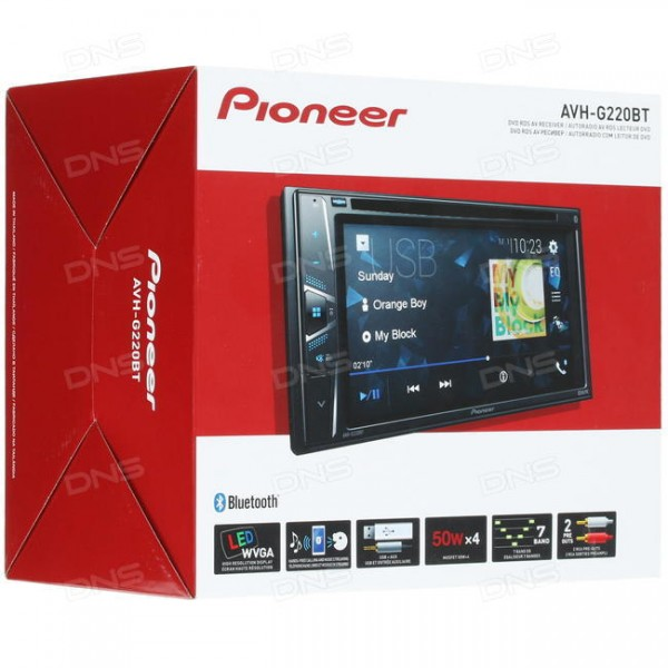PIONEER AVH-G220BT