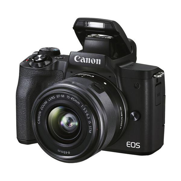 CANON EOS M50 MARK II NEGRO + CANON 15-45mm