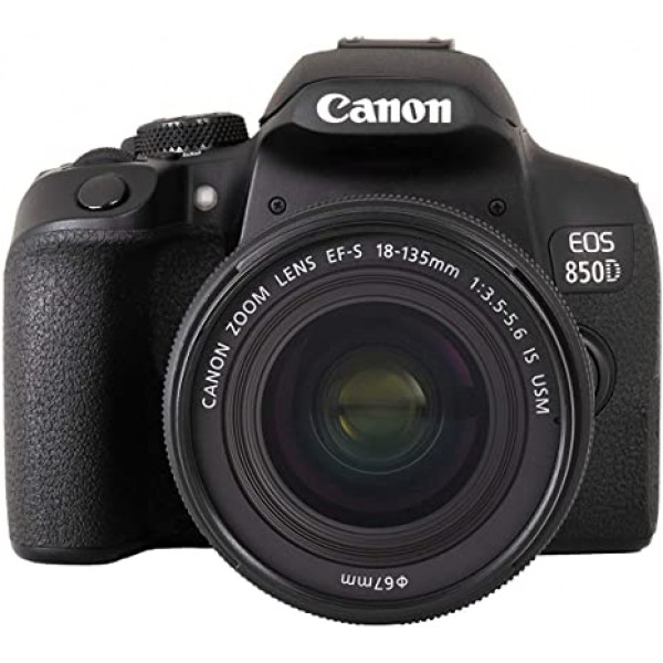 Canon EOS-850D + Canon EF-S 18-135mm IS STM (Garan...
