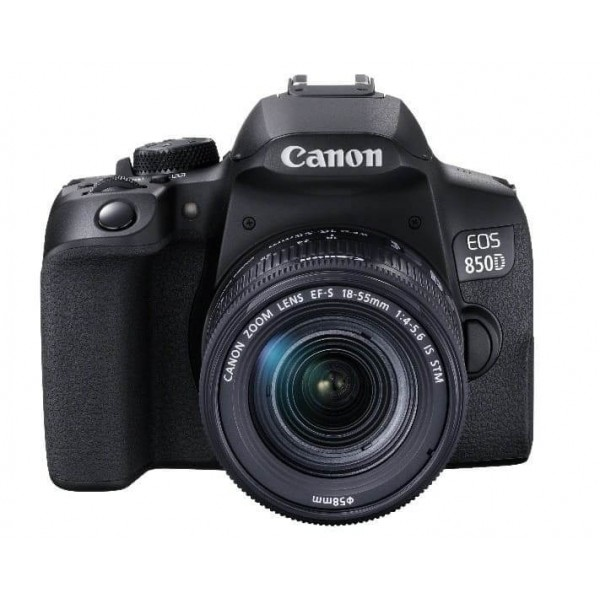 Canon EOS-850D + Canon EF-S 18-55mm IS STM (Garant...