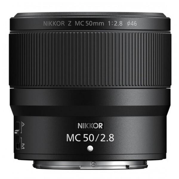 NIKON NIKKOR Z 50MM F2.8 VR S MC