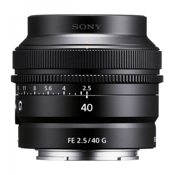 Sony FE 40mm F2.5 G Ref: SEL40F25G