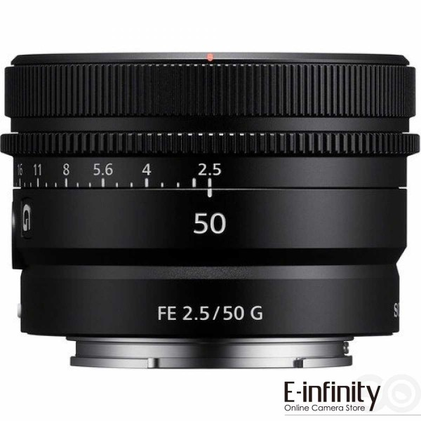 SONY FE 50mm F2.5 G Ref: SEL50F25G