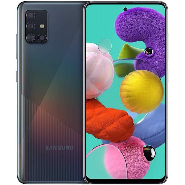 "Samsung A51 6.5"" Negro (Garantía Española)"