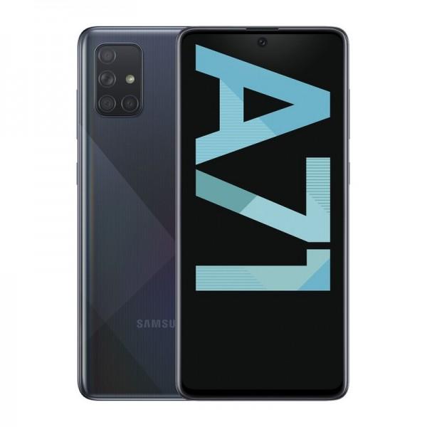 "Samsung A71 6/128GB 6.7"" Negro (Garantía Esp..."