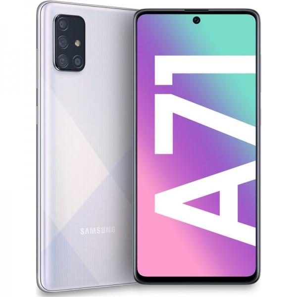 "Samsung A71 6/128GB 6.7"" Silver (Garantía Es..."