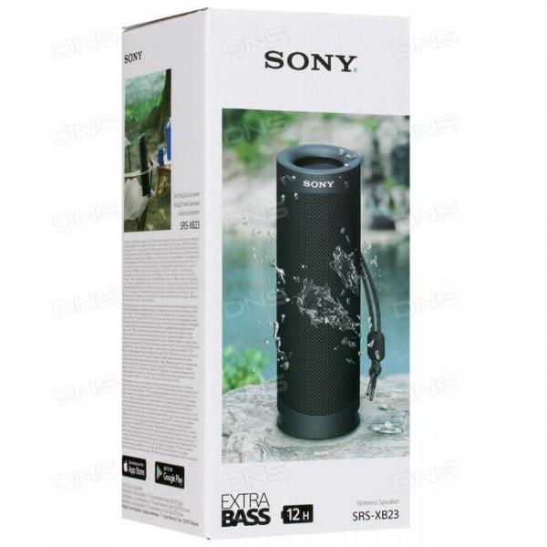 Sony Altavoz portátil EXTRA BASS SRS-XB23 Negro (Garantía Española)