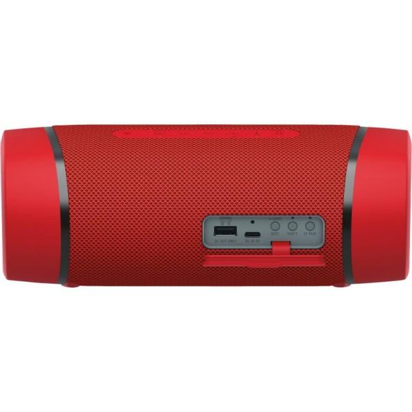 Sony Altavoz portátil EXTRA BASS SRS-XB33 Rojo(Garantía Española)