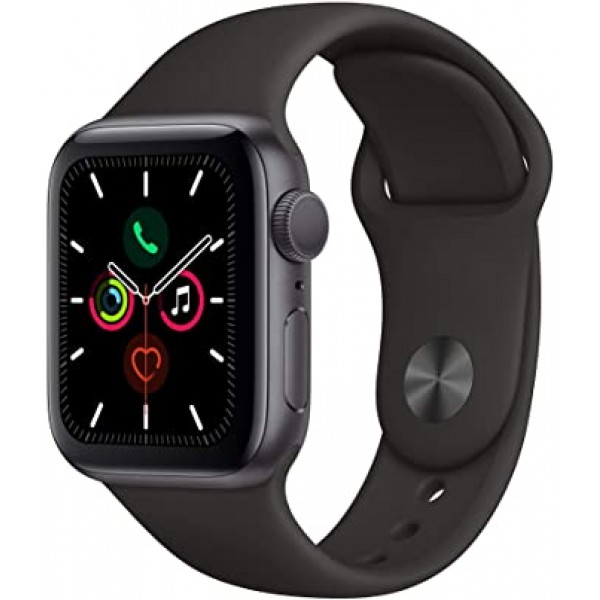 Reloj Apple Watch S5 LTE 40 mm Aluminio en Negro (...
