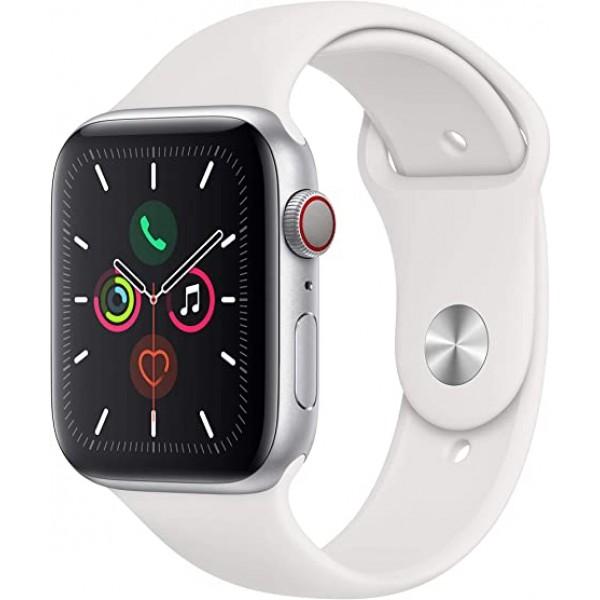Reloj Apple watch S5 GPS 44mm aluminio silver  (Garantía Española)