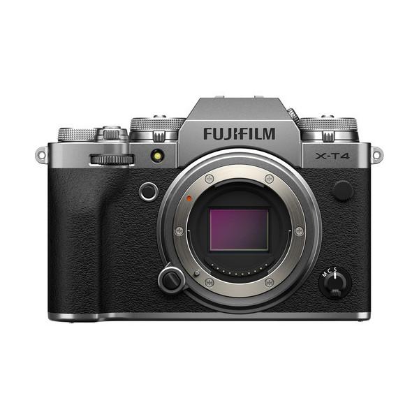 FUJIFILM X-T4 CUERPO PLATA