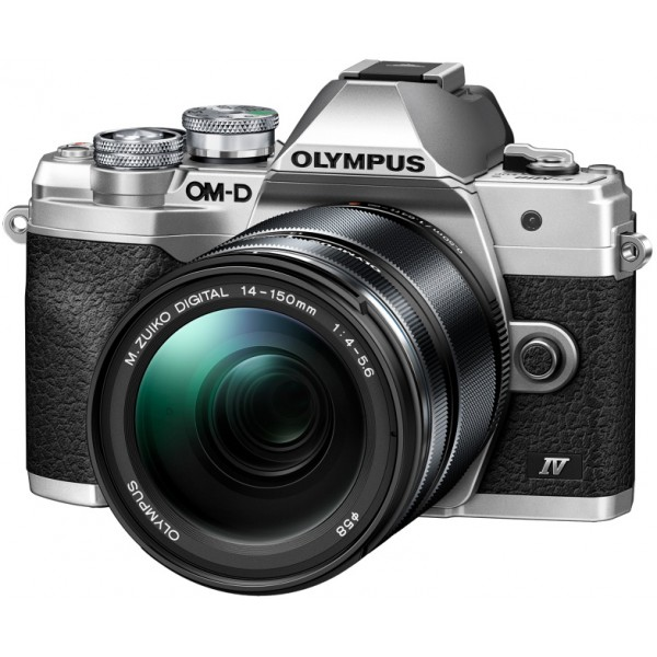 Olympus M10 Mark IV Silver + 14-150mm F/4.5-6 (Gar...