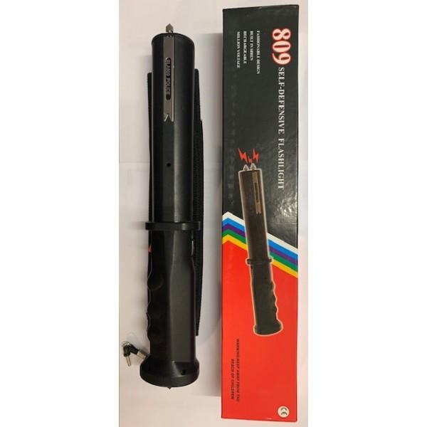 Defensa Eléctrica porra eléctrica taser de 10.000 volts Type 809