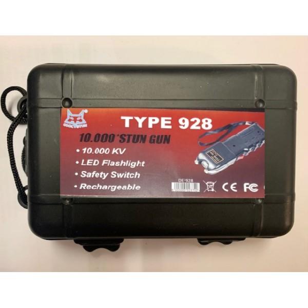 Defensa Eléctrica Stun Gum TYPE  928 de 10.000KV.
