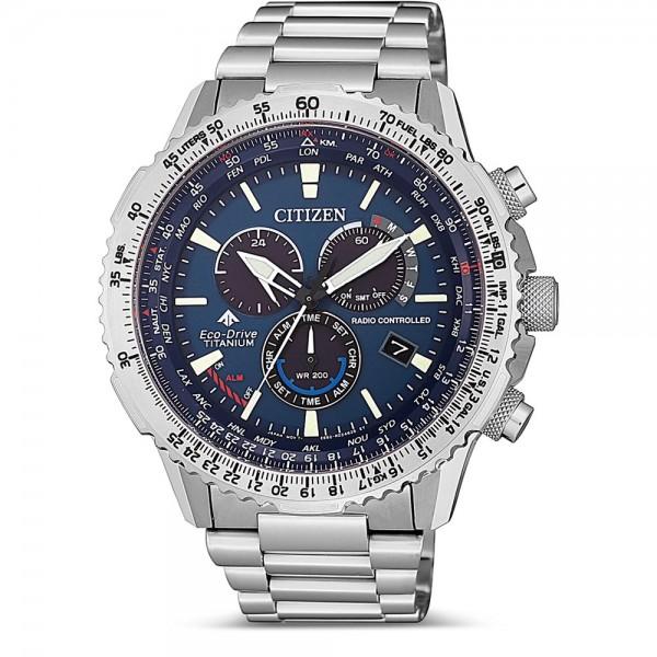 Reloj Citizen Crono Pilot Super Titanium CB5010-81L
