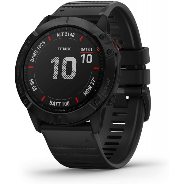 Reloj Garmin Fenix 6X Zafiro Negro Ref: 010-02157-...