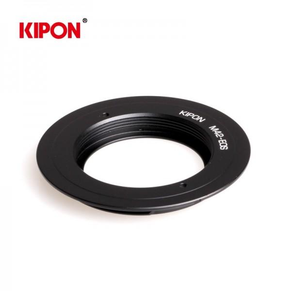 Kipon Anillo mecanico MF lente M42 camara Canon EO...
