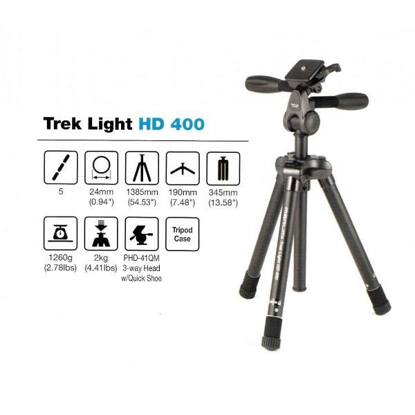 Tripode MARUMI Trek Light HD-400