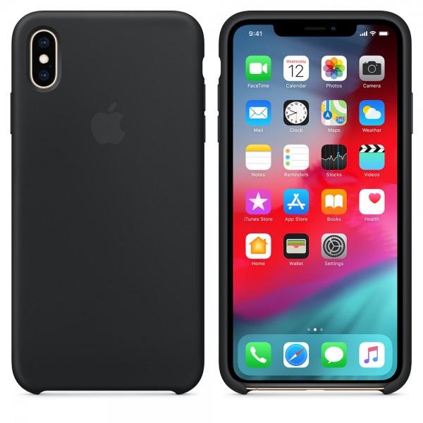 Apple Funda Iphone XS Max Silicone Case Black