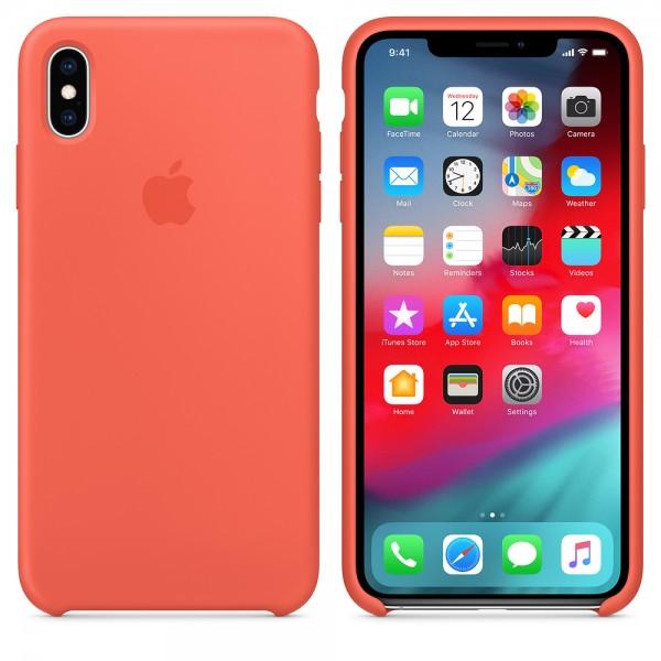 Apple Funda Iphone XS Max Silicone Case Nectarina