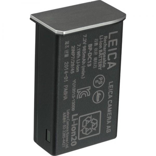 Batería de iones de litio Leica BP-DC13 (7.2V, 985mAh, Plateado) Ref: 18772