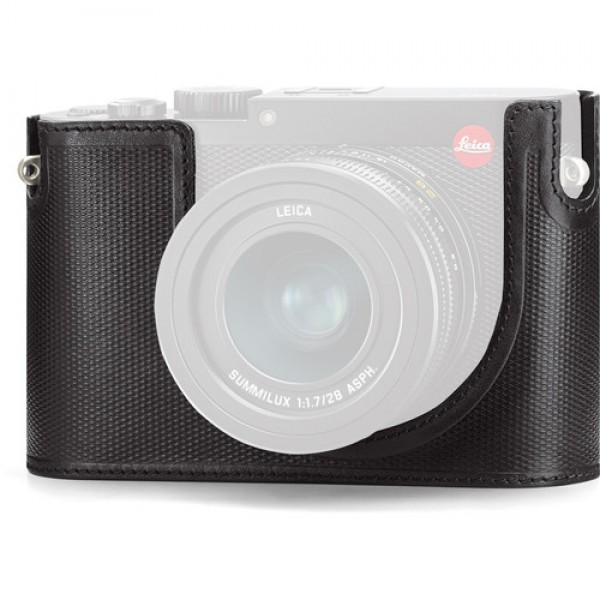 Protector para Leica Q cámara digital (cuero, neg...