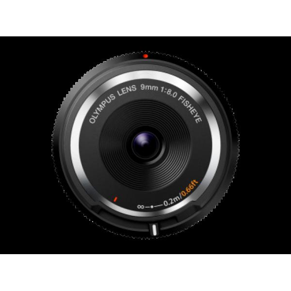 Objetivo Olympus BODY CAP LENS 9mm 1:8.0 Negro (Ga...