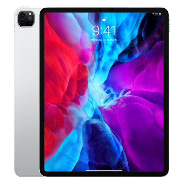 Apple Ipad Pro 12,9 256GB WIFI Plata 2020 (Garant�...