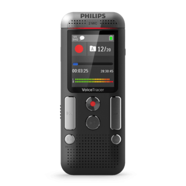 Grabadora Philips 8GB MP3 REC 2MIC Ref: DVT2510