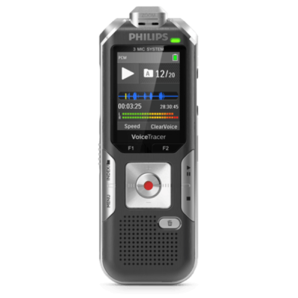 Grabadora Philips 8GB MP3 REC 3MIC ZOOM Ref: DVT60...