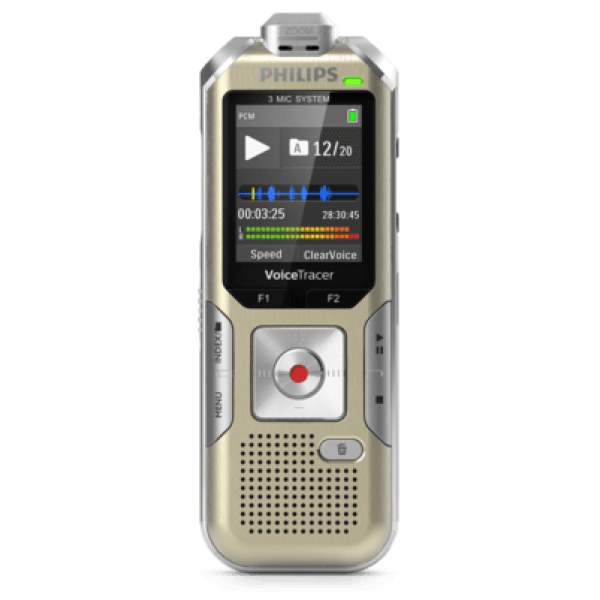 Grabadora Philips 8GB MP3 REC 3MIC Music REC Ref. ...