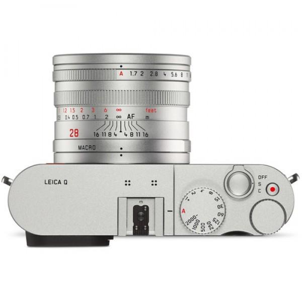 Cámara Leica Q (Typ 116) (plata anodizada) Ref: 19022