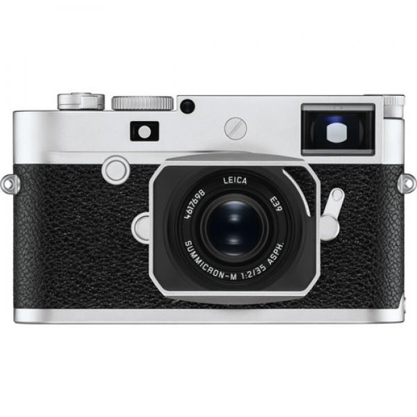 Cámara Leica M10-P telémetro digital (Silver Chr...