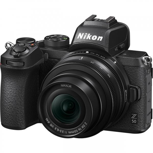 Nikon Z50 + Nikon Z 16-50mm + Nikon FTZ (Garantía...