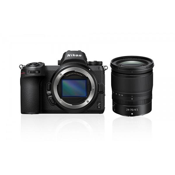 Nikon Z6 Cuerpo + Nikkor Z 24-70mm f/4 (Garantía ...