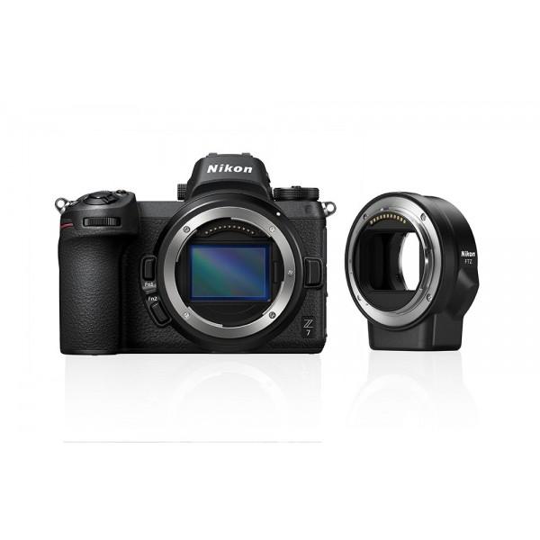 Nikon Z7 Cuerpo + Nikon FTZ (Garantía Nikon Espa�...