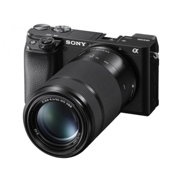 Cámara Sony ilce-6100 + Sony 16-50mm + Sony + 55-210mm (Garantia Sony España) Ref: ILCE6100YB