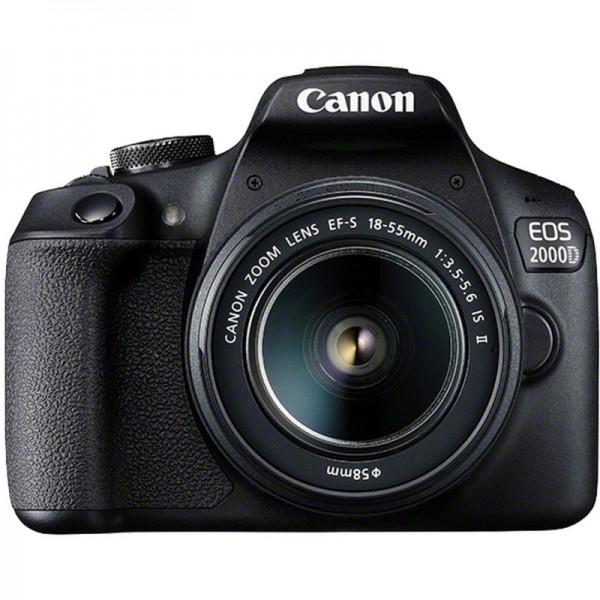 Cámara Canon EOS-2000D + Canon EF-S 18-55mm III K...