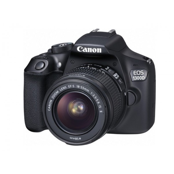 Cámara Canon EOS-1300D+Canon 18-55mm DC III (Gara...