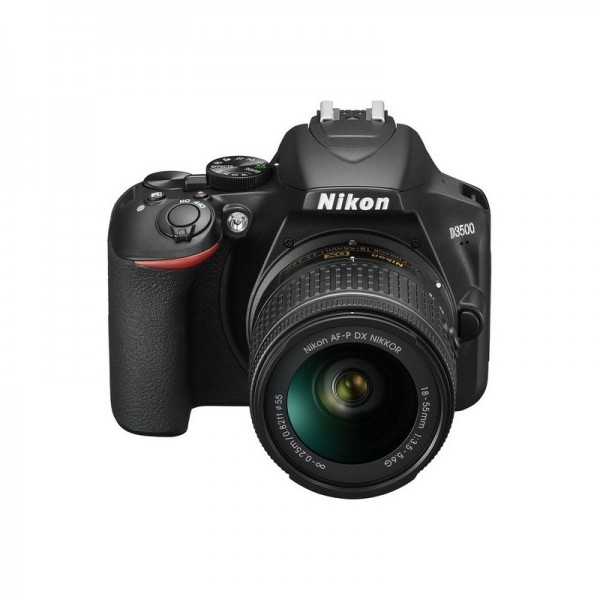 Camara Nikon D3500 + Nikon 18-55mm + Funda + Libro...
